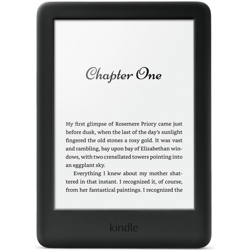 Amazon Kindle Touchscreen WiFi 2019, black