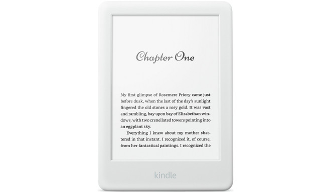 Amazon Kindle Touchscreen WiFi 2019, balts
