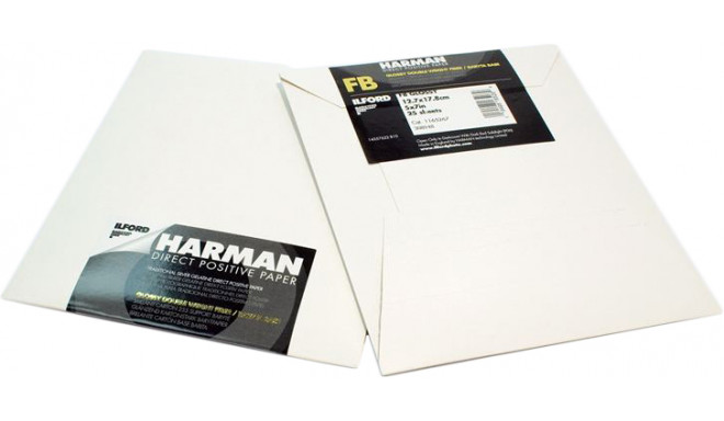 Ilford positive paper Direct FB 5x7 25 sheets
