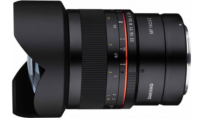 Samyang MF 14mm f/2.8 Z lens for Nikon