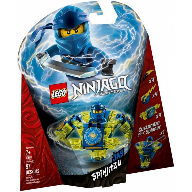 Blocks Ninjago Spinjitzu Jay