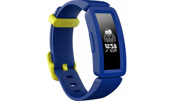 Fitbit aktivitātes trekeris Ace 2, tumši zils/neona dzeltens