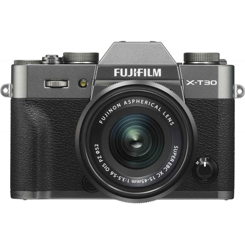 Fujifilm X-T30 + 15-45mm Kit, charcoal