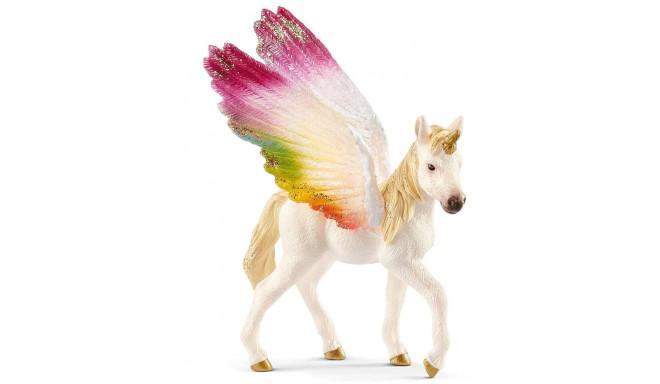 Schleich mängufiguur Winged Rainbow Unicorn varss (70577)