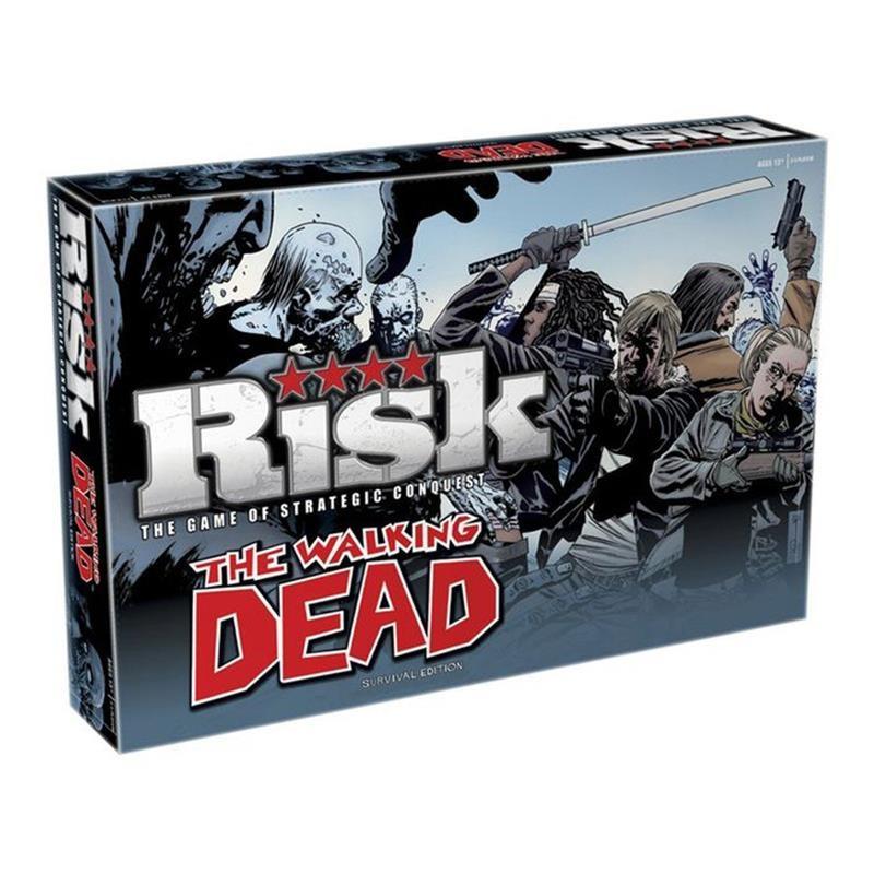 Lauamäng Risk - The Walking Dead