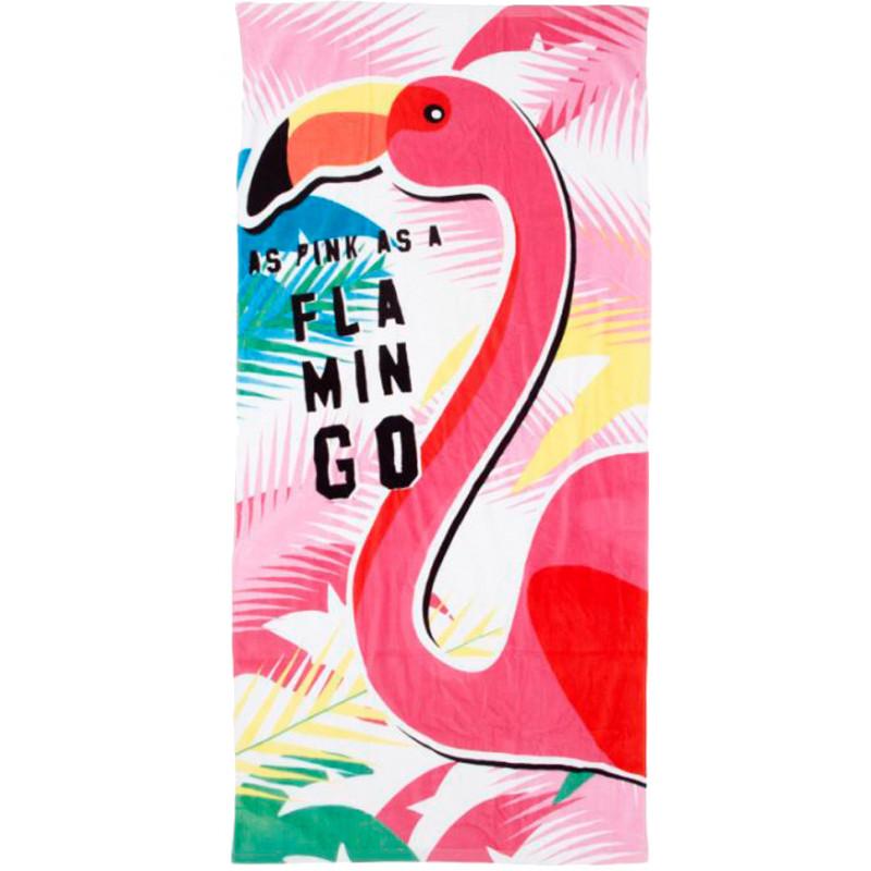 Arditex beach towel Flamingo