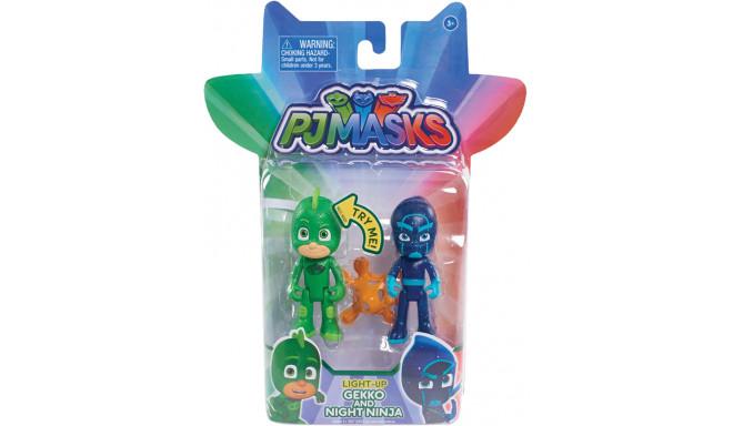 Just Play rotaļu figūriņa PJ Masks Gekko & Night Ninja