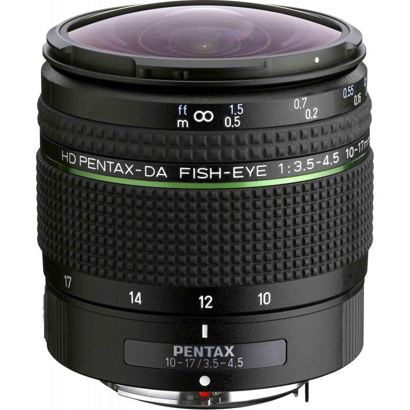HD Pentax DA 10-17mm f/3.5-4.5 ED objektiiv