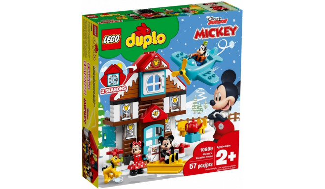 Bricks DUPLO Mickeys Vacation House
