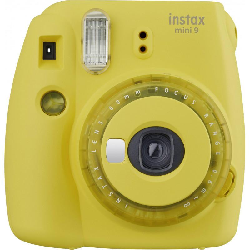 Fujifilm Instax Mini 9, clear yellow + Instax Mini film