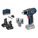 Bosch GSR 12V-15 2x 4,0Ah Cordless Drill Driver