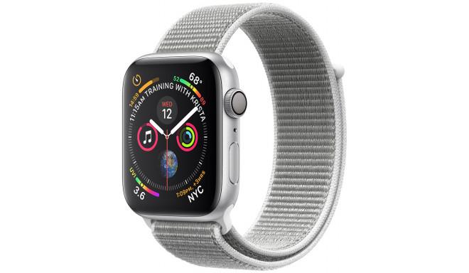 Apple Watch 4 GPS 40mm Sport Loop, gliemežvāka krāsā