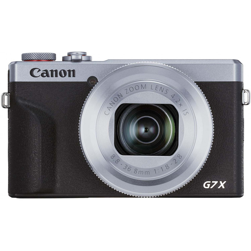 Canon Powershot G7 X Mark III, серебристый
