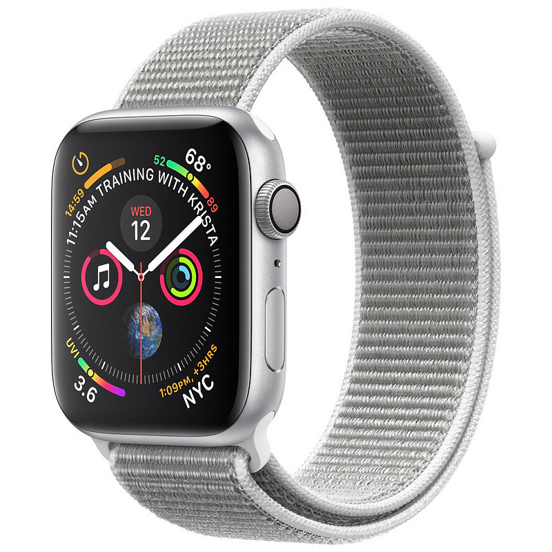 Apple Watch 4 GPS 44mm Sport Loop, seashell