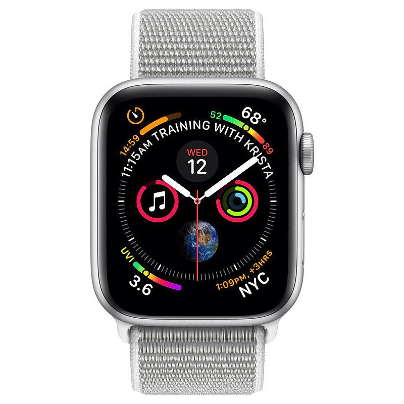 Apple Watch 4 GPS 44mm Sport Loop, seashell