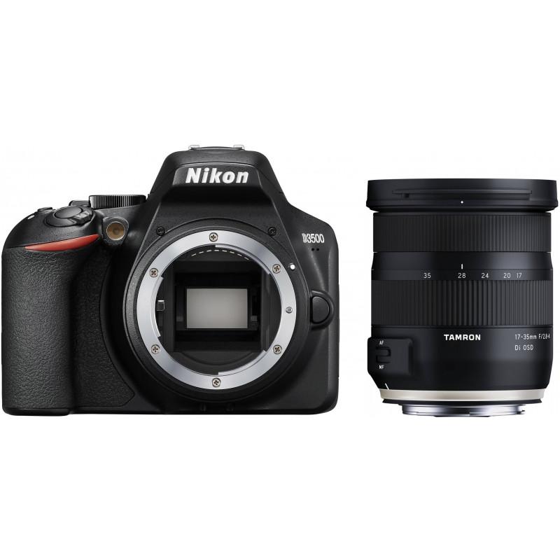 Nikon D3500 + Tamron 17-35mm OSD, must