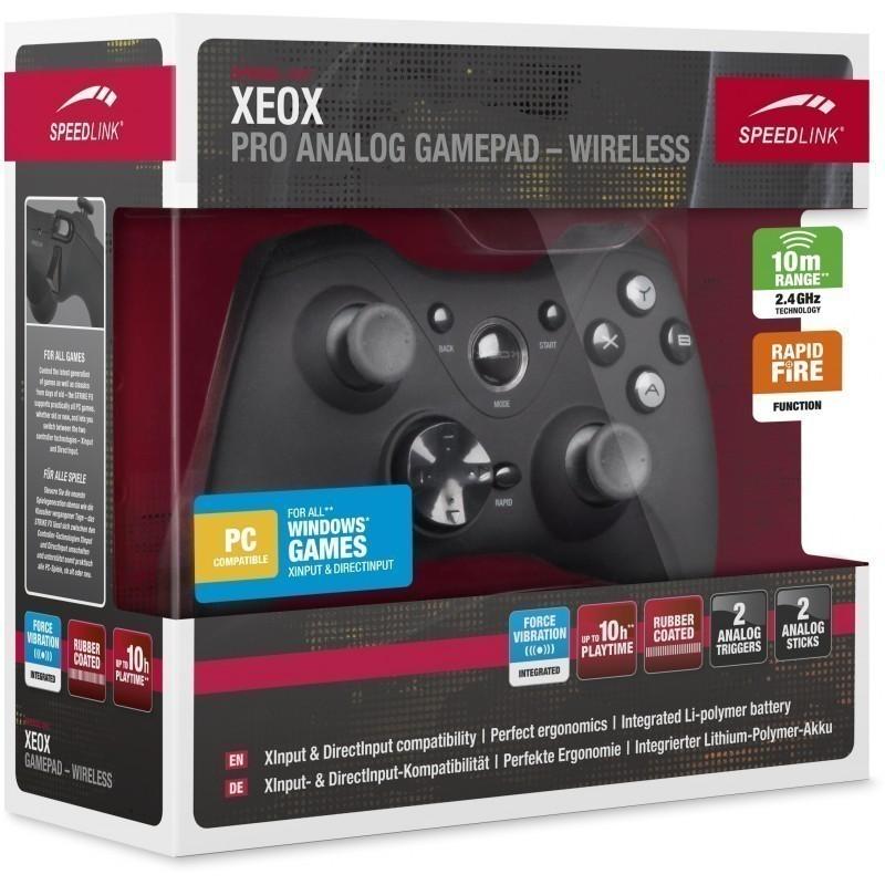 Speedlink gamepad Xeox, black (SL-6566-BK-01)