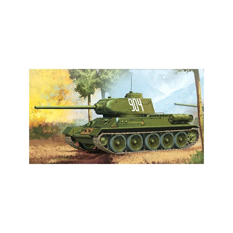 ACADEMY T34/85 '112facto ry produktion'
