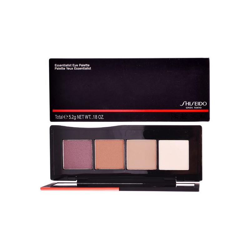 Acu ēnu palete Essentialist Shiseido (01 - miyuki street nudes 5,2 g)