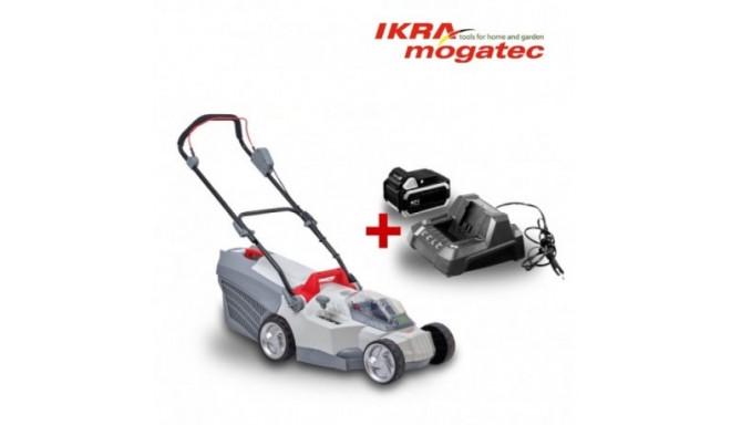 Akumulaatoriga muruniiduk 40V IKRA Mogatec IAM 40-3725 - TÄIS KOMPLEKT