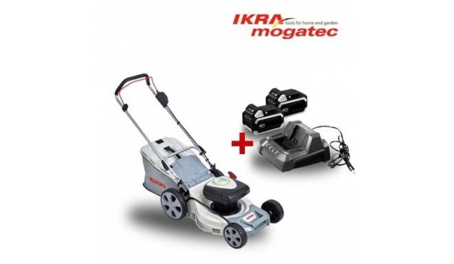 Akumulaatoriga muruniiduk 40V IKRA Mogatec IAM 40-4325 - TÄIS KOMPLEKT