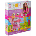 HCM 4M Steam Powered Girls - Girl tin cans, construction toys