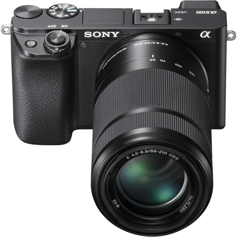 Sony a6100 + 16-50mm + 55-210mm Kit