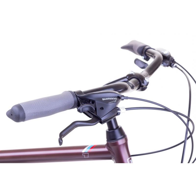 Linnajalgratas meestele 19 M ROMET WAGANT 1 pruun