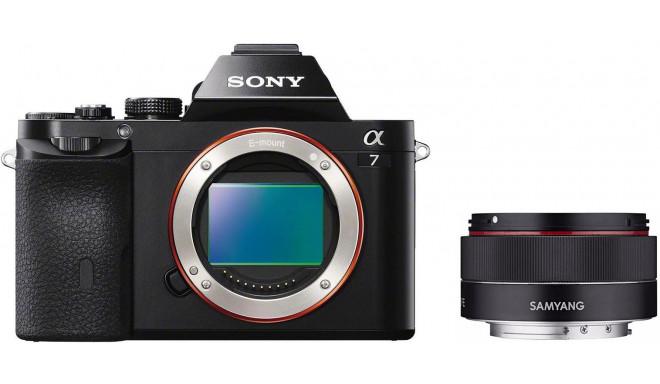 Sony a7 + Samyang AF 35 мм f/2.8