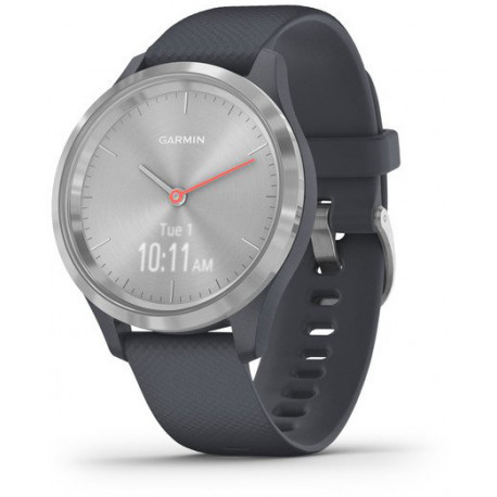 Garmin vivomove 3S Sport, silver/granite blue