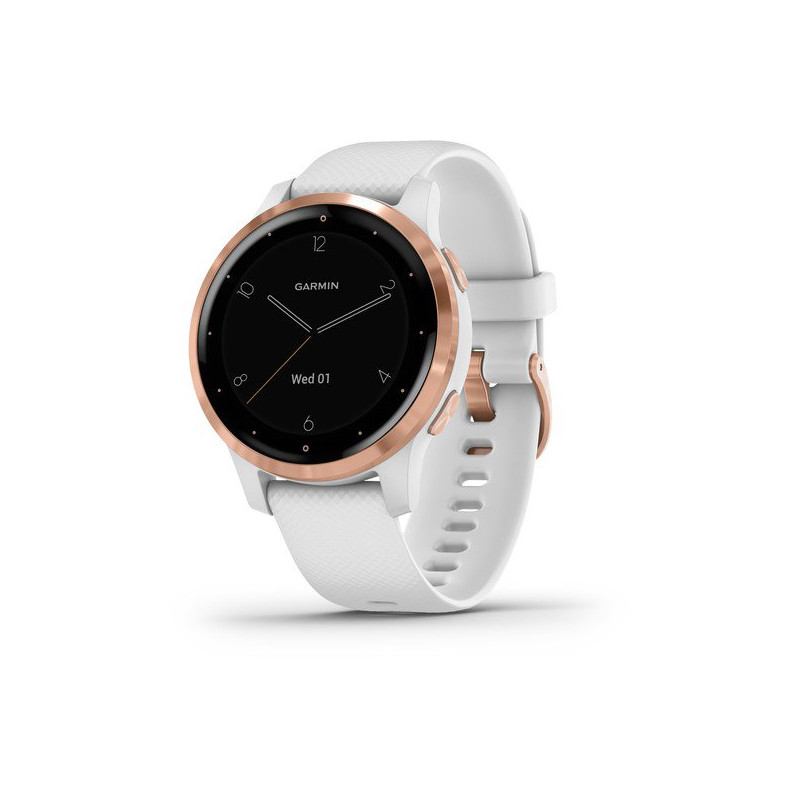 Garmin vivoactive 4S, rose gold/white