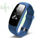 Heart rate monitor smartband, blue