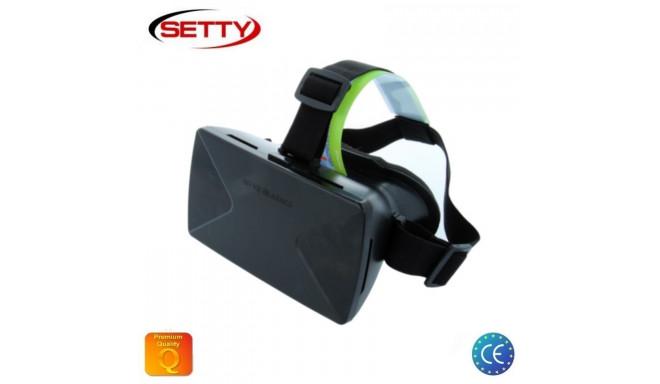 "Setty virtuaalreaalsuse prillid 3D Universal 3.5-6"""