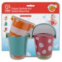 Bathing toy Happy Buckets set