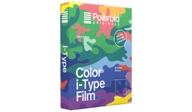 Polaroid i-Type Color Camo Edition