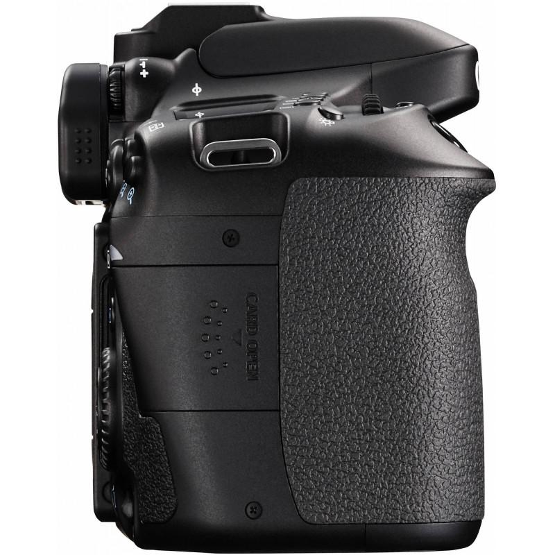 Canon EOS 80D + Tamron 18-270mm PZD TS
