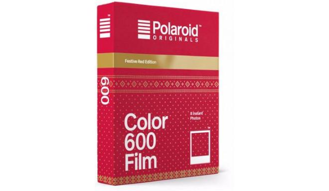 Polaroid 600 Color Festive Red Edition
