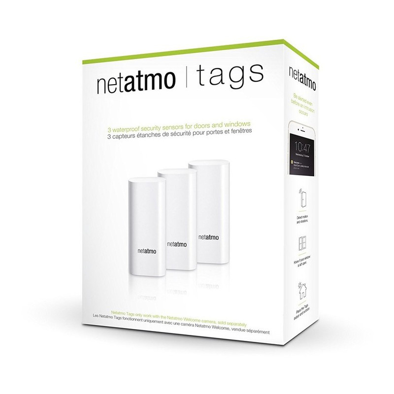Netatmo Smart Door and Window Tags
