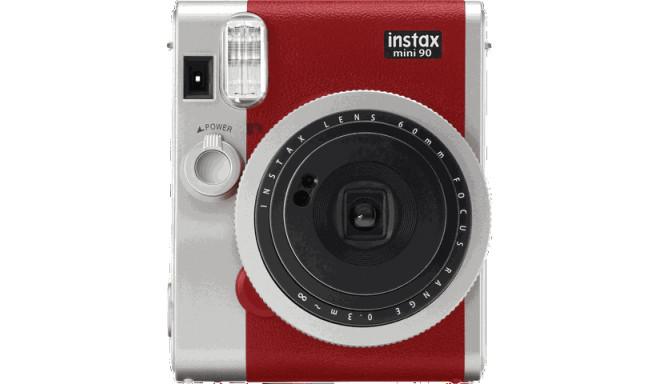 Fujifilm Instax Mini 90 Neo Classic, punane