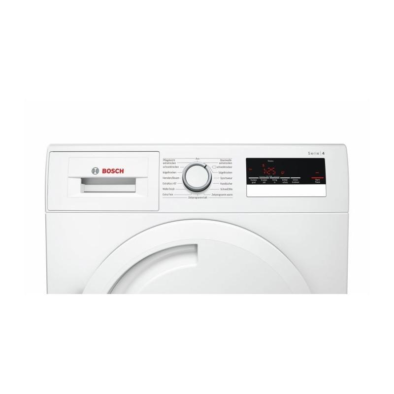 Bosch WTR83V00 series -4, heat pump condenser dryer(White)
