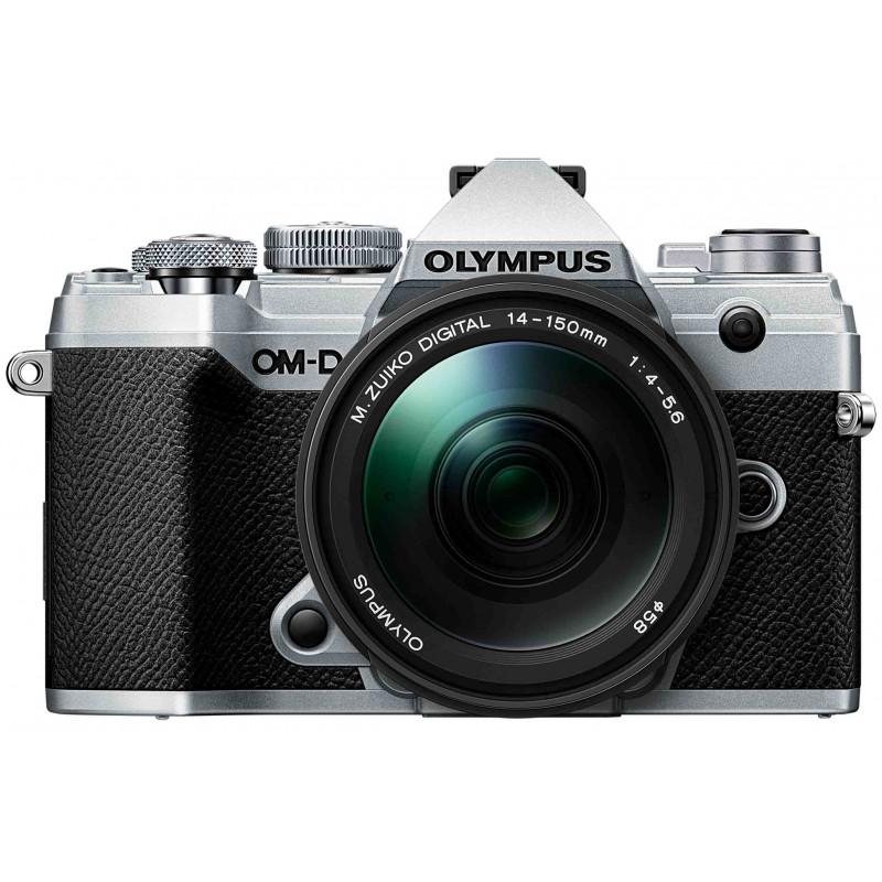 Olympus OM-D E-M5 Mark III + 14-150mm Kit, hõbedane/must