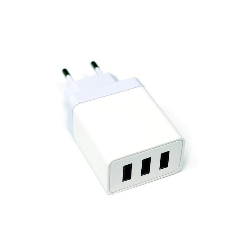 Platinet USB-laadija 3xUSB QC 3.0 3A 18W (44995)