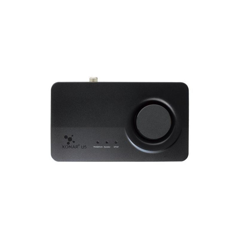 Asus helikaart Xonar U5 5.1 USB