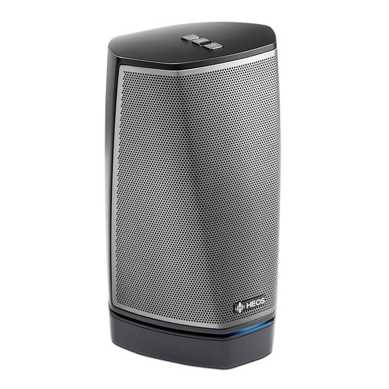 CD player zonal Denon HEOS 1 HS2 czarny (LAN (RJ-45), WiFi; black color)