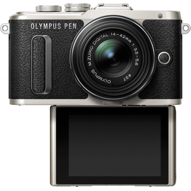 Olympus PEN Lite E-PL8 + 14-42mm II R Kit, must