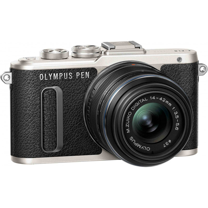 Olympus PEN Lite E-PL8 + 14-42mm II R Kit, black