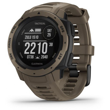 Garmin Instinct Tactical GPS, coyote tan