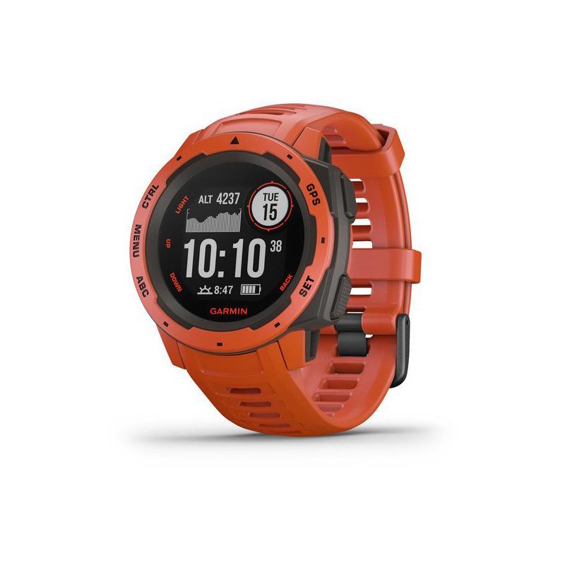 Garmin Instinct GPS, flame red