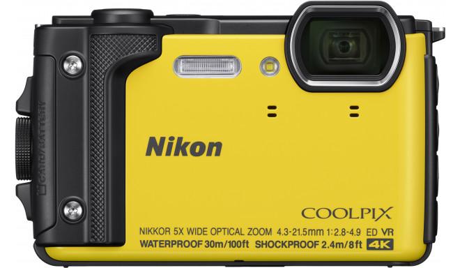 Nikon Coolpix W300, kollane (avatud pakend)
