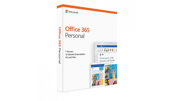 MS Office 365 Personal ENG 1a P2
